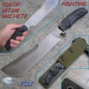 Нож мачете фирмы Fox -FKMD FOX GOLOK HITAM MACHETE OF/FX-9CM02B